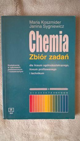 Chemia zbiór zadań - Maria Koszmider, Janina Sygniewicz