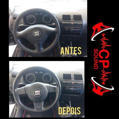 Adaptação e Montagem de volante em Seat ibiza 6k2 6k3