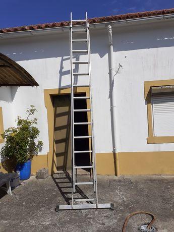 Escada dupla alumínio