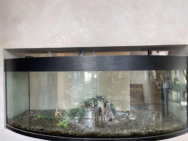 Продам панорманый аквариум