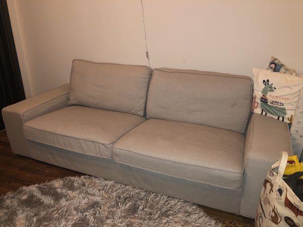 Sofa ikea kivik trzyosobowa