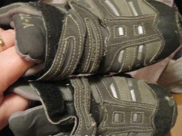 мальчуковые кроссовки на мальчика б у 36 р серые на липучках