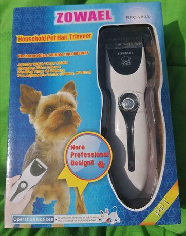 Tosquiadora recarregável cães e gatos NOVO