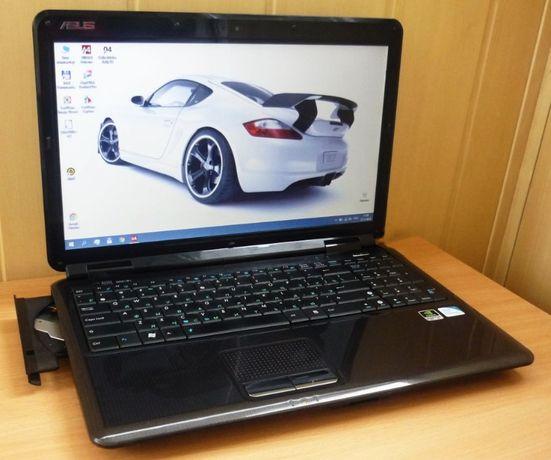 Мощный мультимедийный ноутбук Asus \ Intel \ Wi-Fi \ WebCam