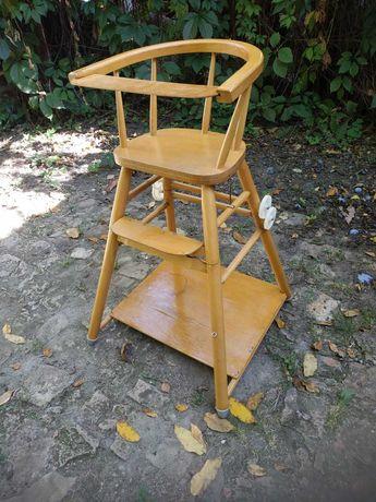 Детский стульчик-столик для кормления и занятий