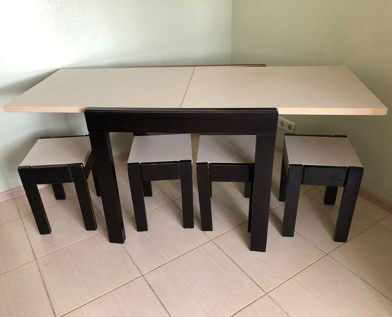 Кухонный стол трансформер