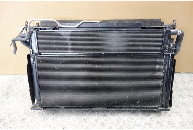 Радиатор основной,кондиционера,диффузор Toyota Rav-4 2013-2018 Гибрид