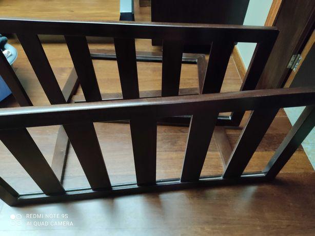 Grades de proteção para cama em madeira maciça novas cada 50€