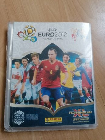 Album Panini Adrenalyn XL UEFA Euro 2012 z kartami