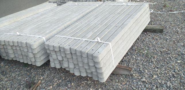 Słupki betonowe do malin