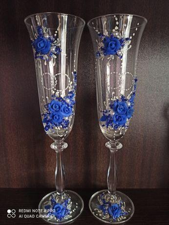 Продам бокалы свадебные