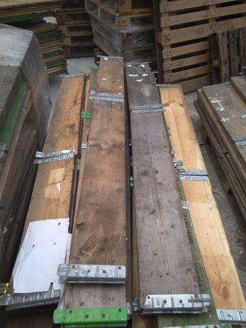 Nadstawka paletowa drewniana nadstawki paletowe skrzynia na euro FV