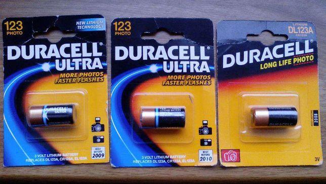 Baterie Duracell 123 3 V