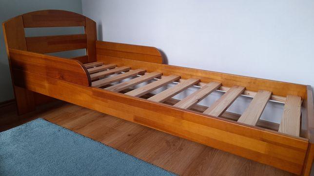 Łóżko dziecięce sosnowe 165x75