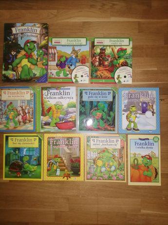 Komplet 11 książek z serii FRANKLIN