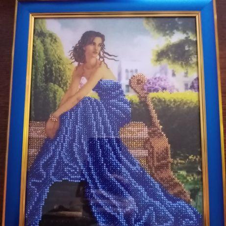 Картина Дівчина в синьому
