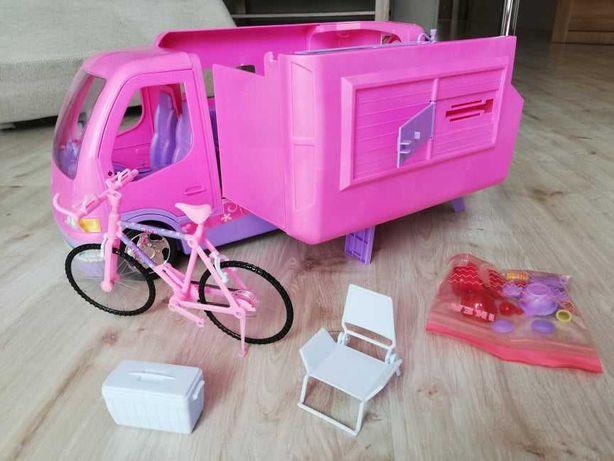 Camper Barbie różowy