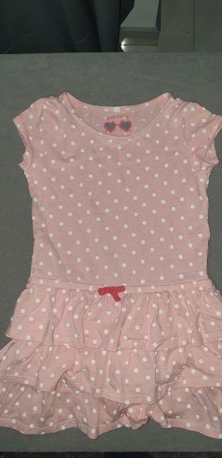 Sukienka w grochy 104cm