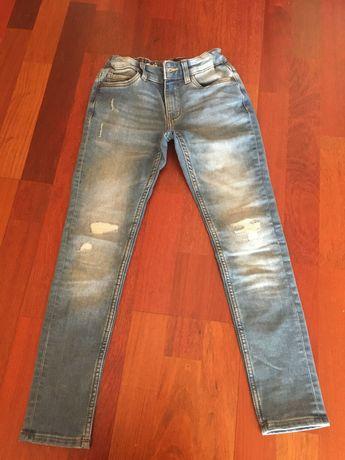 Spodnie jeansowe chłopięce rozm. 140 C&A