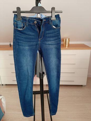 3 pary dżinsów jeans jeggings  nowe