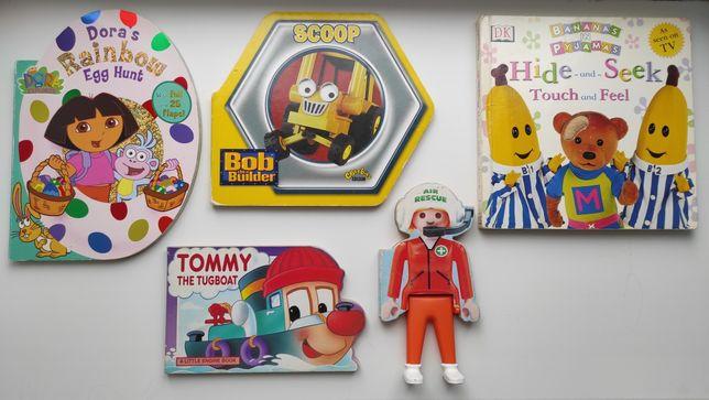 Книги Дора,Боб Строитель,Bananas in Pyjamas,Tommy,Rescue на английском
