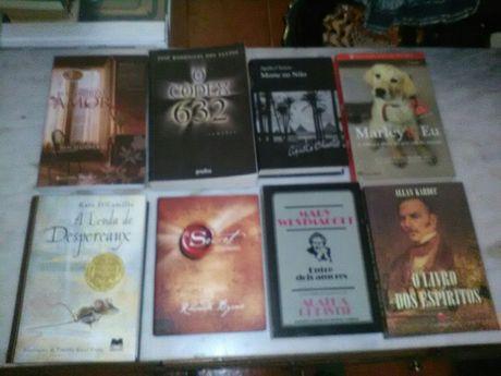Conjunto de 6 Livros de Romance/Outros