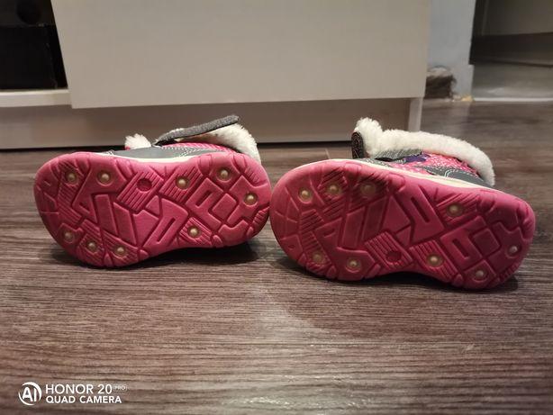 Zimowe buty dziecięce.