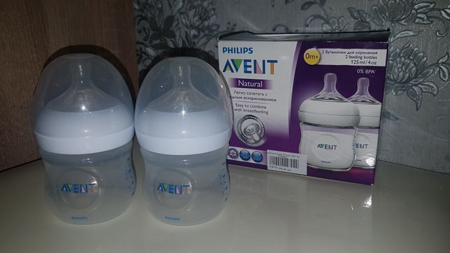 Philips Avent Natural бутылочки
