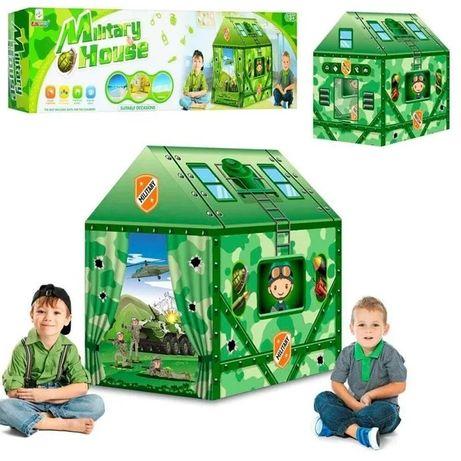 Детская игровая палатка-домик Military House МАЛЬЧИКУ