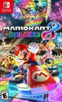 Mario Kart 8 Deluxe NOWA SWITCH
