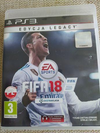 Gra FIFA 18 PL Sony PS3