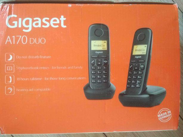 Telefon bezprzewodowy Gigaset a170 duo nieużywany