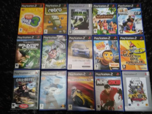 15 jogos ps2 todos funcionais