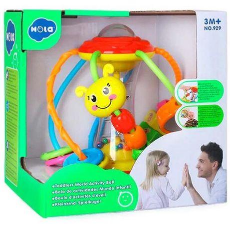 Погремушка Развивающий шар Hola Toys оригинал