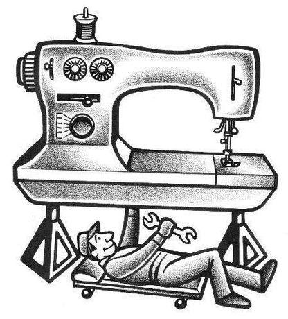 Ремонт швейных машинок оверлоков, машин