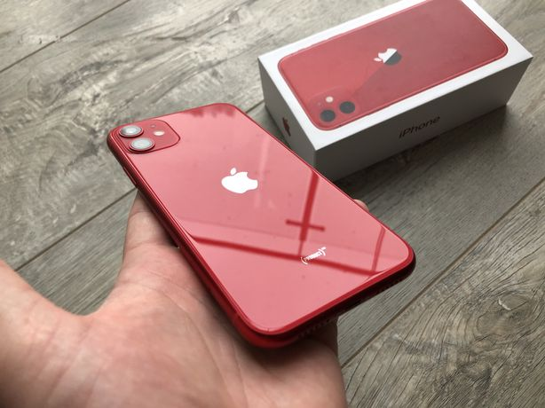 iPhone 11 64gb Product Red #i186