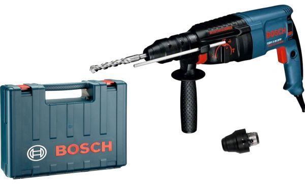 Młotowiertarka udarowo-obrotowa elektryczna Bosch GBH 2-26 DRE 800W