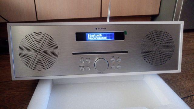 Radio z CD USB bluetooth