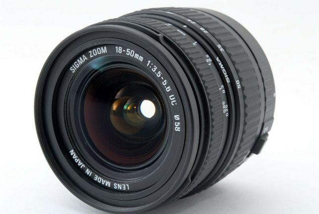 Объектив Sigma AF 18-50mm F3.5-5.6 DC (под canon)