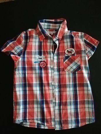 Sprzedam koszule na chłopca rozmiar 122