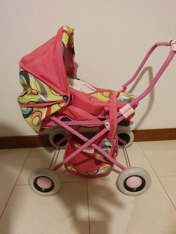 Wózek dla lalek dla dziewczynki do zabawy