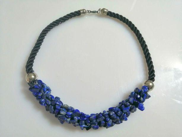 Naszyjnik naturalny kamień Lapis Lazuli