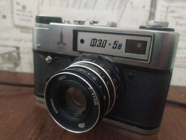 Плёночный фотоаппарат фэд 5в