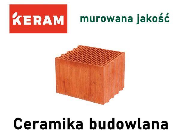 Pustak ceramiczny Keram 25 P+W- ekologiczne, ciepłe pustaki !Promocja!