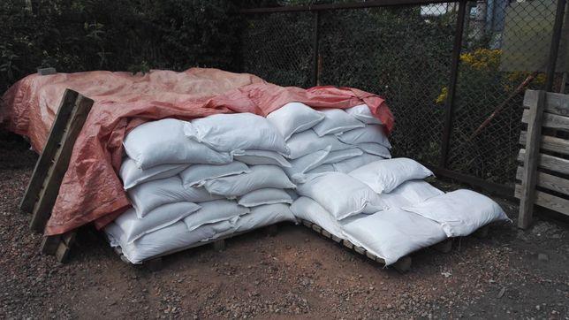 Piasek piach do piaskownicy z atestem (workowany po 40kg i 1 tona)