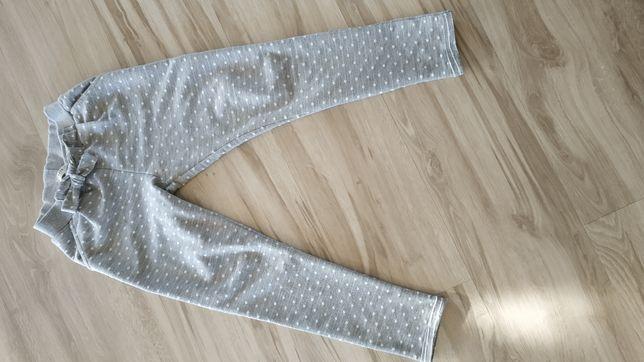 Spodnie szare na gumce