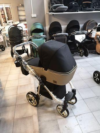 Wózek Adamex Reggio Special Edition, Złota rama