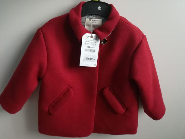 Płaszczyk 86 Zara nowy, płaszcz dla dziewczynki