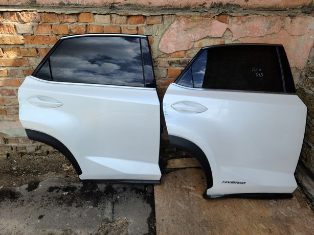 Дверь задняя  правая Lexus NX 2014-2021 двері лексус нх ЗАПЧАСТИ