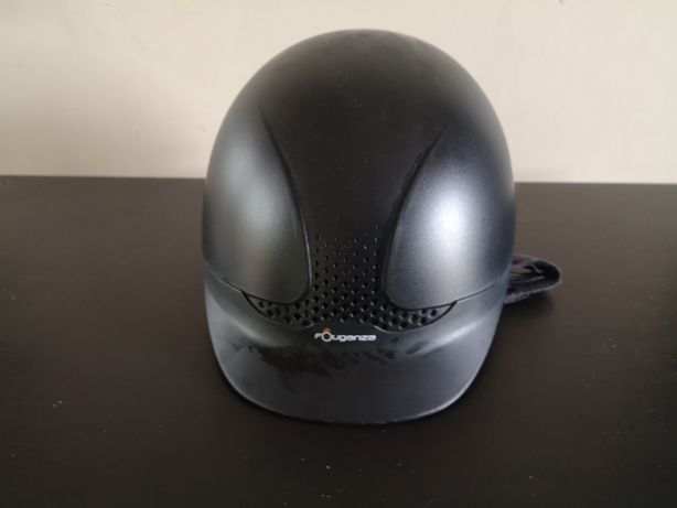 kask jeździecki Fougenza Safety Black